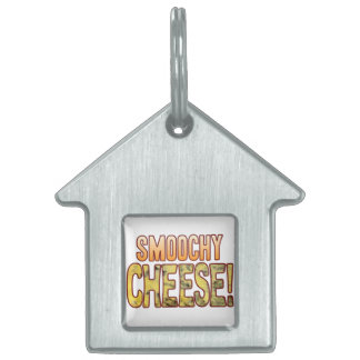 Smoochy Blue Cheese Pet Tag