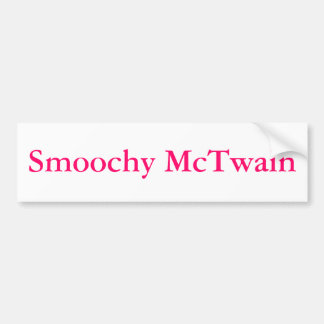 Smoochy Bumper Sticker
