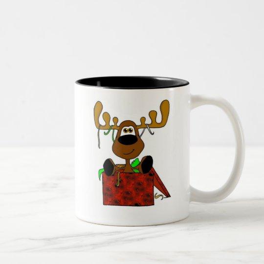 Smooshy Present Two-Tone Coffee Mug