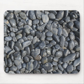 Smooth Black Pebbles Mouse Mat