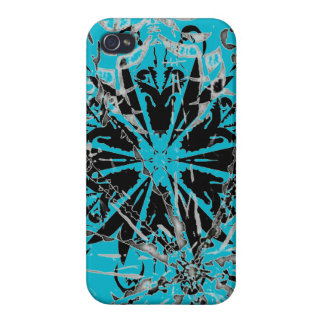 Smooth Blue iPhone hard case