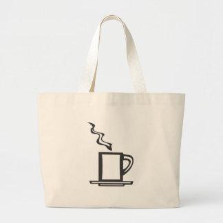 Smooth Coffee Mug Canvas Bags