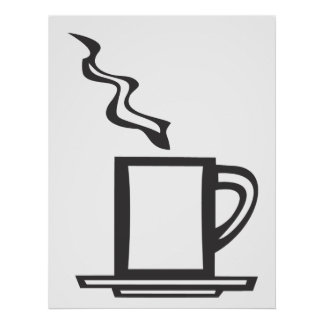 Smooth Coffee Mug Poster