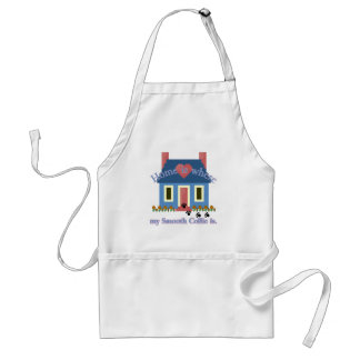 Smooth Collie Home Is Standard Apron