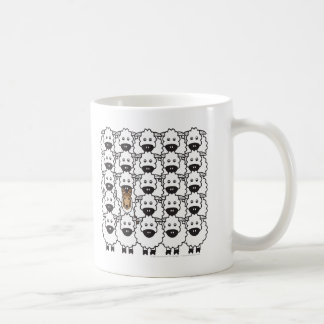 Smooth Collie in the Sheep Coffee Mug