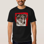 Smooth Collie Portrait T Shirts
