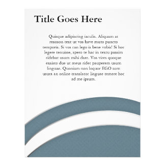 Smooth Curves Personalized Flyer