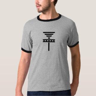 Smooth Disc Basket BLK T-Shirt