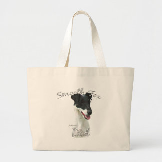 Smooth Fox Terrier Dad 2 Large Tote Bag