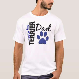 Smooth Fox Terrier Dad 2 T-Shirt