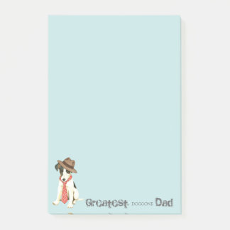 Smooth Fox Terrier Dad Post-it Notes