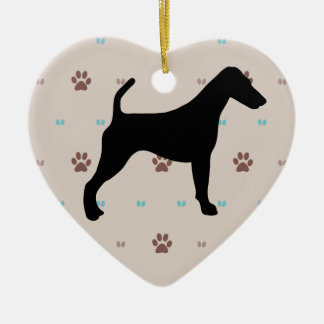 Smooth Fox Terrier Christmas Ornaments