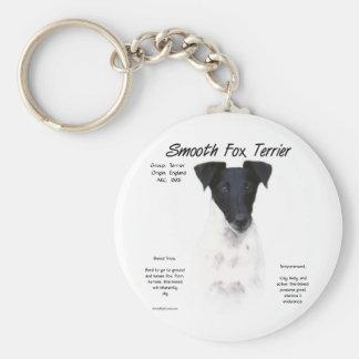 Smooth Fox Terrier History Design Key Chain
