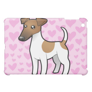 Smooth Fox Terrier Love iPad Mini Cover