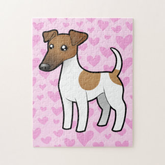 Smooth Fox Terrier Love Jigsaw Puzzle