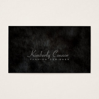 Smooth Fur Cool Fashion Black Card