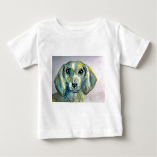 Smooth Haired Dachshund Baby T-Shirt
