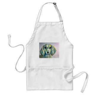 Smooth Haired Dachshund Standard Apron