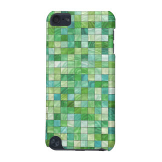 Smooth irregular green background iPod touch (5th generation) cover