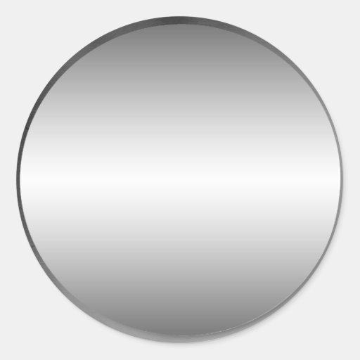 Smooth Metal Plate Sticker