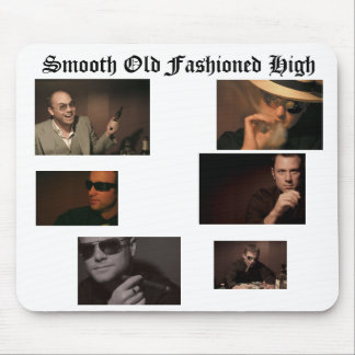 Smooth Old Fashioned High Mouse Pad