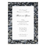 Smooth Pebbles Engagement Party Personalised Invites
