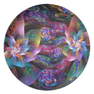 Smooth Plastic Bubbles Plate