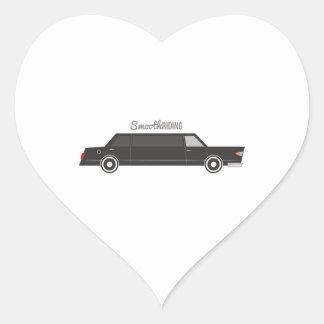 Smooth Riding Heart Sticker