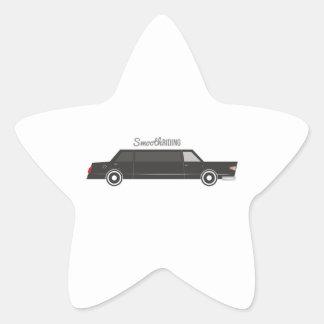 Smooth Riding Star Sticker