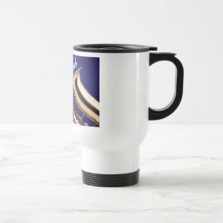 Smooth Saxophone 15 Oz Stainless Steel Travel Mug