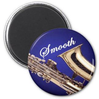 Smooth Saxophone Fridge Magnets