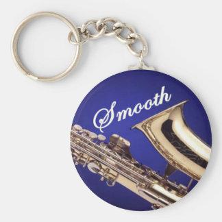 Smooth Saxophone Key Ring