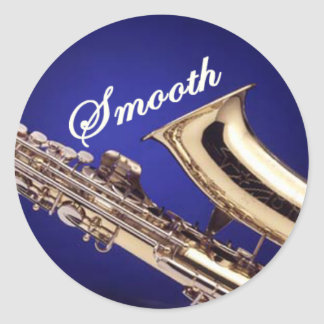Smooth Saxophone Stickers
