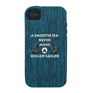 Smooth Sea Never Made Skilled Sailor Case-Mate iPhone 4 Covers