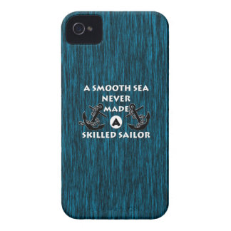 Smooth Sea Never Made Skilled Sailor iPhone 4 Case