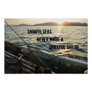 Smooth Seas Poster
