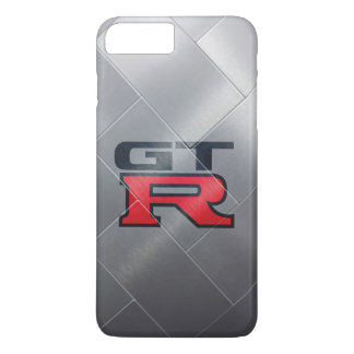 Smooth Silver GT-R iPhone 8 Plus/7 Plus Case
