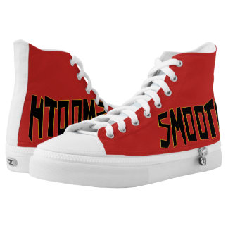 Smooth Style - Red Sneaker