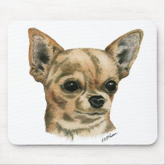 Smoothcoat chihuahua mouse mat