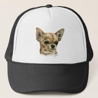 Smoothcoat chihuahua trucker hat