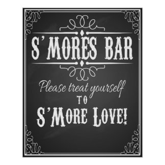 S'More Bar Poster