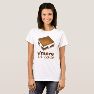 S'more To Love Chocolate Campfire Camp S'mores Tee