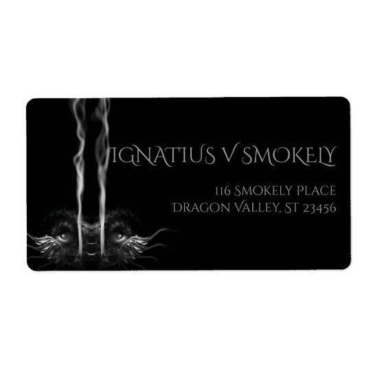 SMOULDER Noir Black Dragon Smoke
