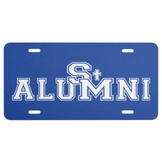 SMS Alumni License Plate