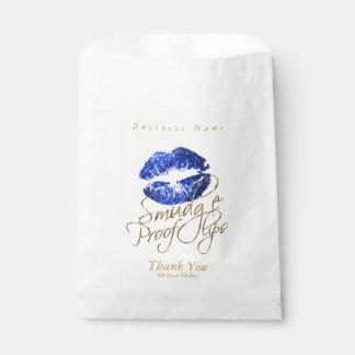 Smudge Proof Lips - Blue Favour Bags