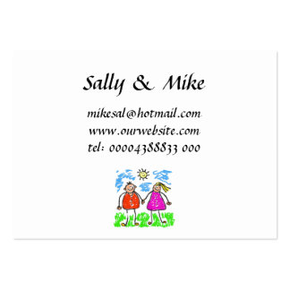 Smudgy Parents Business Cards