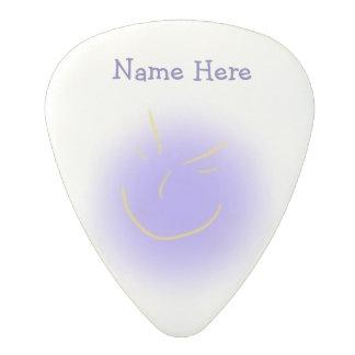 Smug Face Polycarbonate Guitar Pick