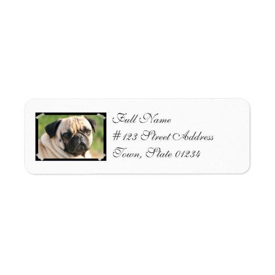 Smug Pug Mailing Labels