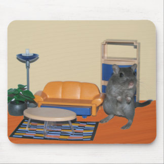 Smurf the Gerbil Mousepad
