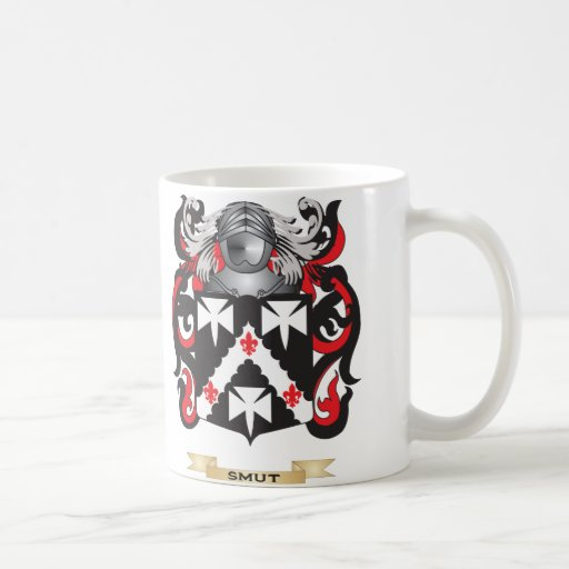 Smut Coat of Arms (Family Crest) Coffee Mug